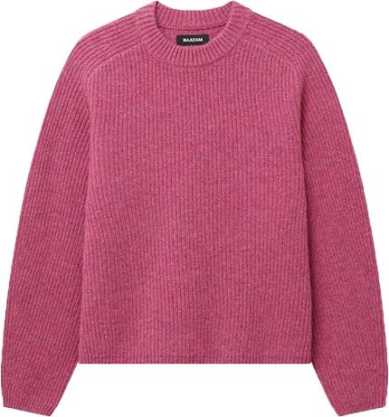 NAADAM cashmere ribbed mock neck sweater   40plusstyle.com