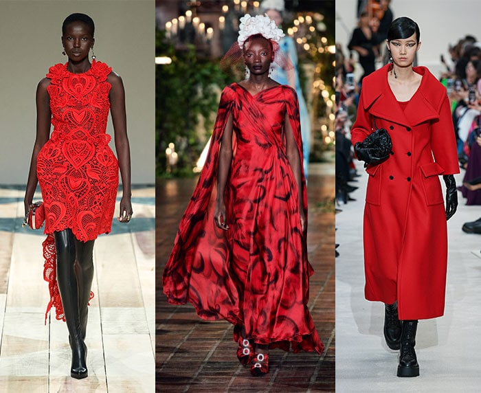 Red runway outfits   40plusstyle.com