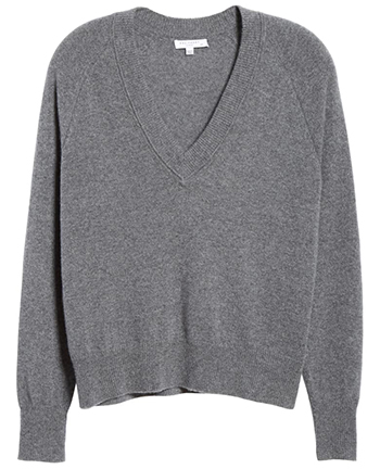 stylish v-neck sweaters   40plusstyle.com