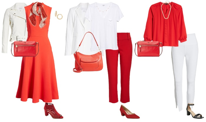 How to wear red and white   40plusstyle.com