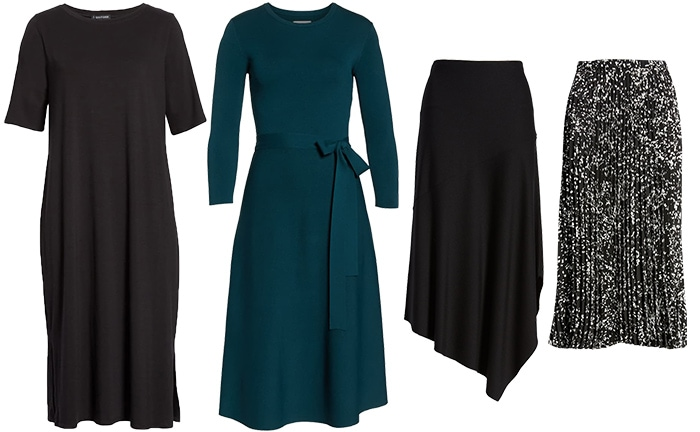 Dresses and skirts to wear for winter   40plusstyle.com