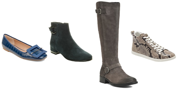 Winter capsule wardrobe - Shoes to wear for winter   40plusstyle.com