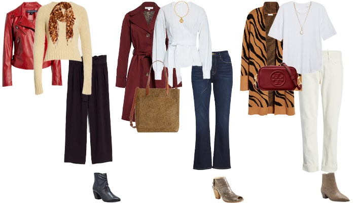 Booties and pants outfit ideas | 40plusstyle.com