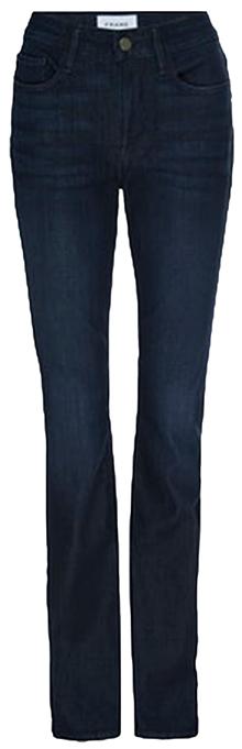 FRAME mini boot jeans | 40plusstyle.com