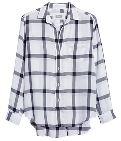 Grayson button-up shirt | 40plusstyle.com