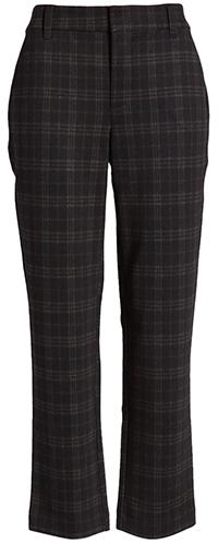 Wit & Wisdom plaid ankle trousers | 40plusstyle.com