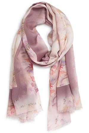 ALLSAINTS scarf | 40plusstyle.com