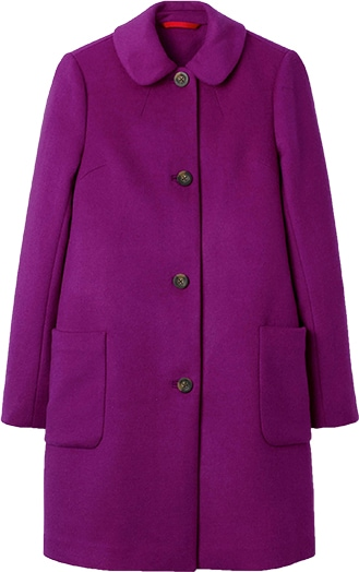 Boden wool-blend coat | 40plusstyle.com