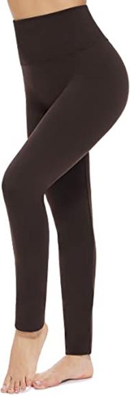CakCton fleece lined tummy control leggings | 40plusstyle.com