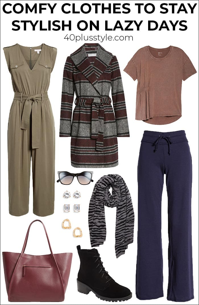 What to wear at home: Comfy clothes to stay stylish on lazy days | 40plusstyle.com