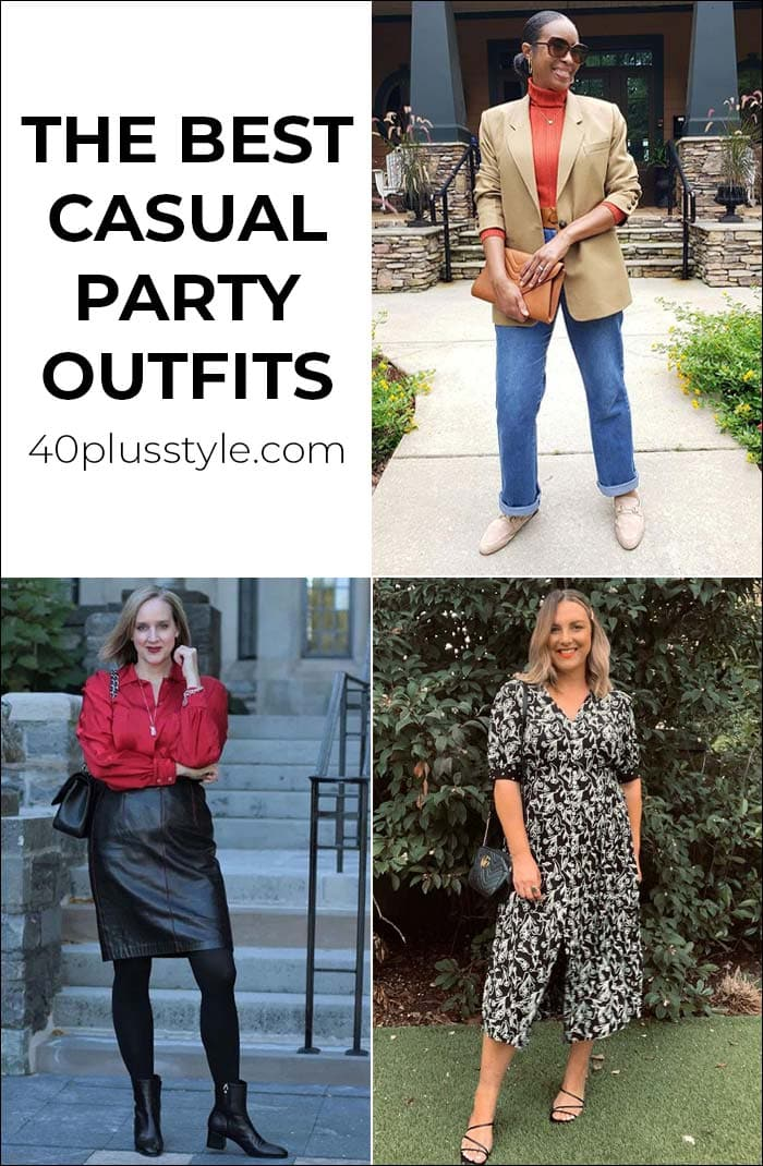 The best casual party outfits that still make an impact | 40plusstyle.com