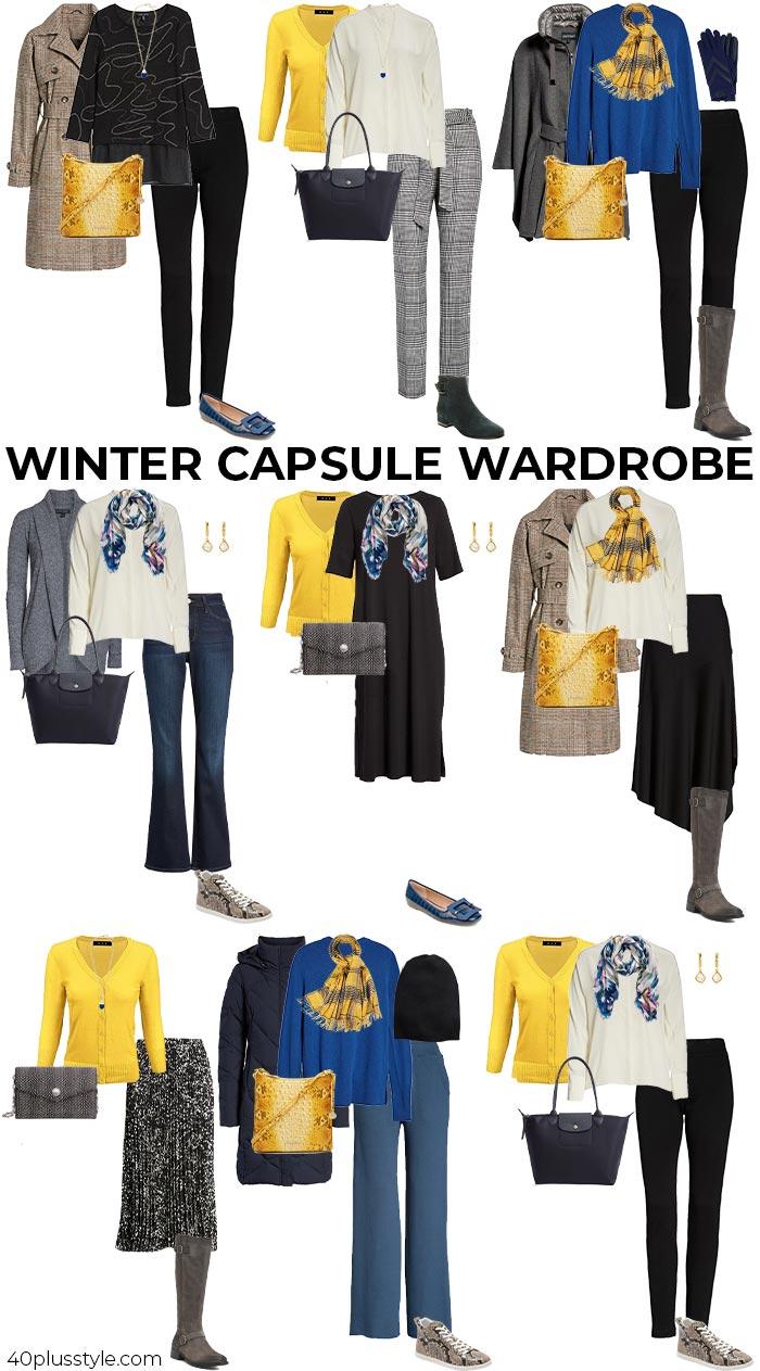 A winter capsule wardrobe   40plusstyle.com