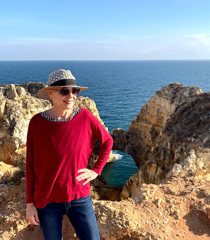 I'm enjoying the beautiful Portuguese coast! - Want to get inspired? Join the bucket list challenge and download your own personal bucket list.