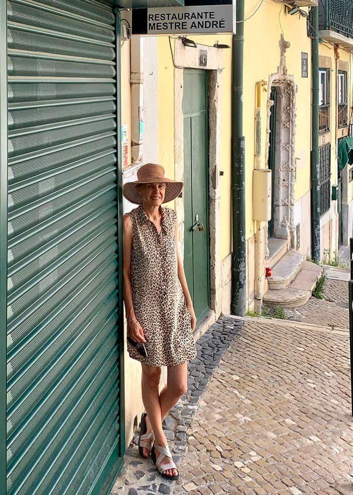 Traveling through Lisbon, Portugal