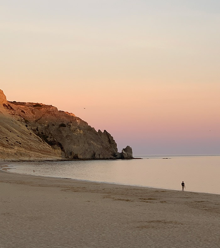 Beautiful Luz in Portugal - Join the bucket list challenge and download your own personal bucket list.
