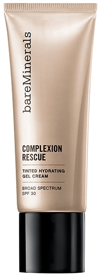 bareMinerals COMPLEXION RESCUE™ Tinted Moisturizer Hydrating Gel Cream SPF 30   40plusstyle.com