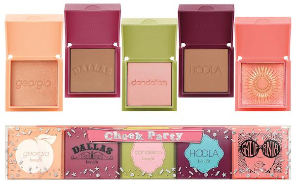 Benefit Cosmetics Cheek Party Mini Blush & Bronzer Set | 40plusstyle.com