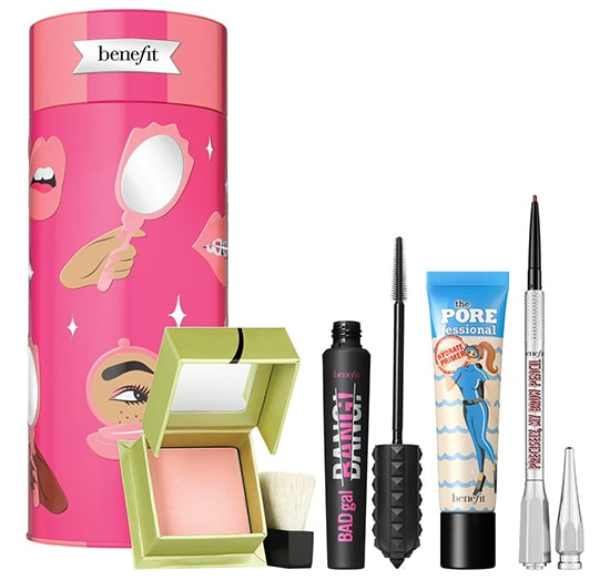 Gifts for make up lovers - Benefit Cosmetics Benefit Talk Beauty to Me Full Size Set | 40plusstyle.com