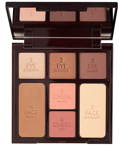 Charlotte Tilbury Stoned Rose Look in a Palette | 40plusstyle.com