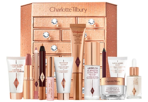 Charlotte Tilbury Charlotte's Bejewelled Chest of Beauty Treasures Set | 40plusstyle.com