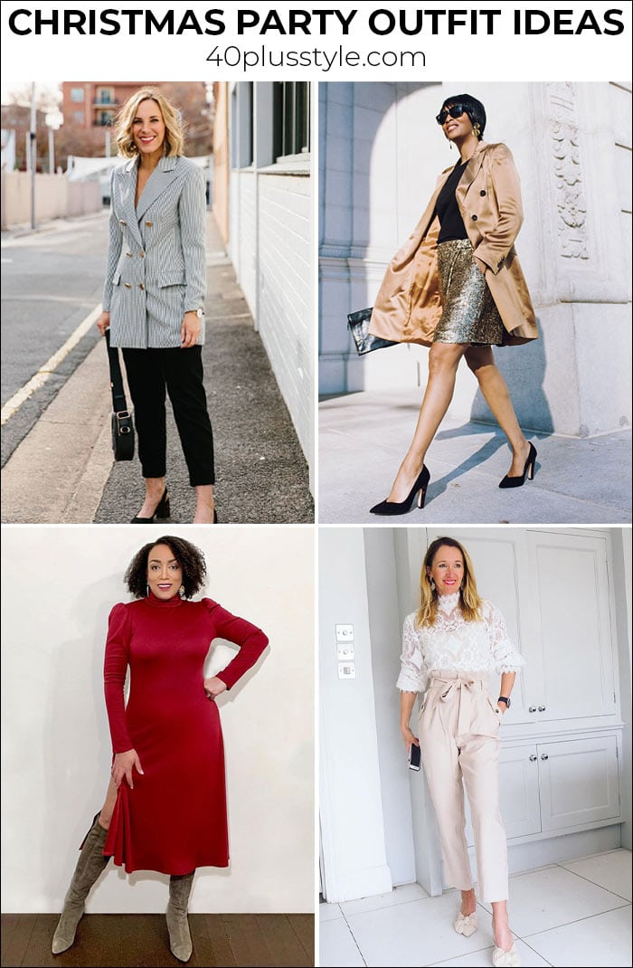 How to dress for a Christmas party   40plusstyle.com