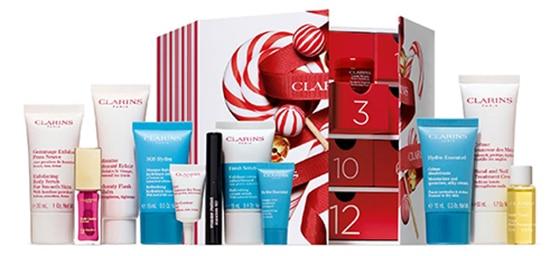 Beauty advent calendars - Clarins Winter Wonders Advent Calendar | 40plusstyle.com