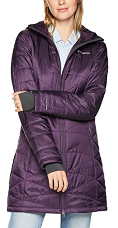 Columbia Mighty Lite hooded jacket | 40plusstyle.com