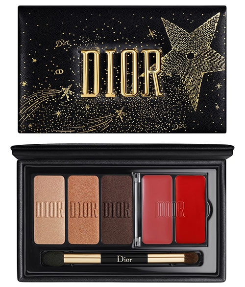 Gifts for make up lovers - Dior Sparkling Couture Eye & Lip Palette | 40plusstyle.com