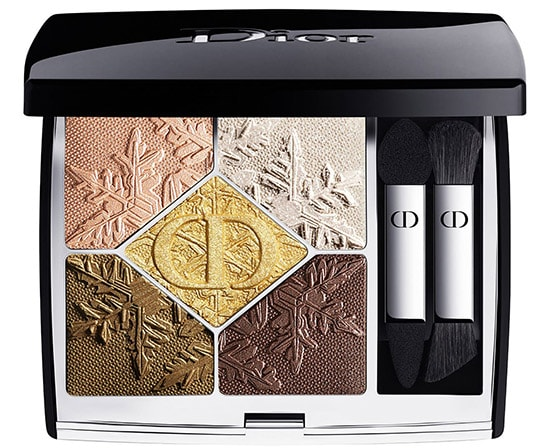 Gifts for make up lovers - Dior Golden Nights 5 Couleurs Couture Eyeshadow Palette | 40plusstyle.com