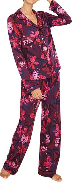 Target floral print pajama set | 40plusstyle.com