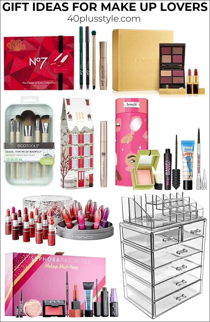 Gifts for make up lovers: Beauty gifts to impress even biggest make-up fans | 40plusstyle.com