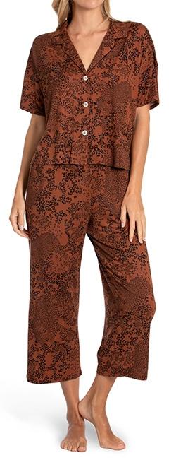 Midnight Bakery crop pajamas | 40plusstyle.com