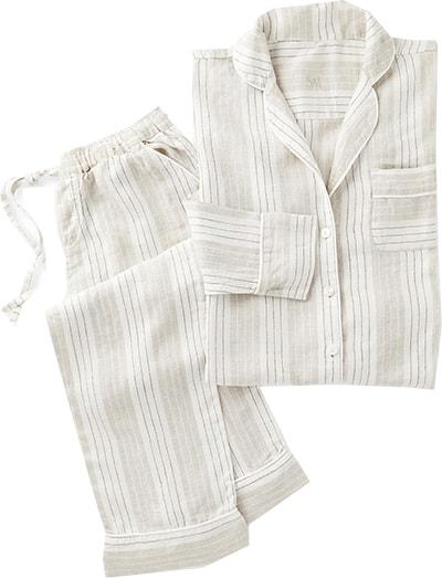Serena & Lily linen pajamas | 40plusstyle.com