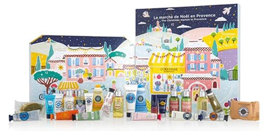 L'Occitane Holiday Advent Calendar | 40plusstyle.com