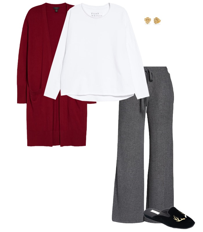 Loungewear for an indoor Thanksgiving | 40plusstyle.com