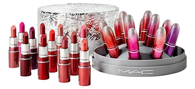 MAC Cosmetics Sure Fire Hit Mini Lipstick Set | 40plusstyle.com