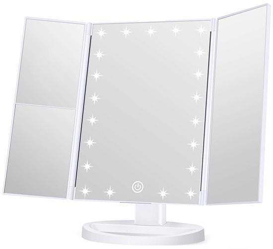 Wondruz Makeup Mirror Vanity Mirror with Lights | 40plusstyle.com