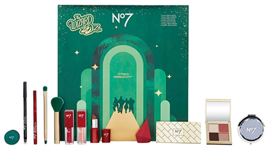 Beauty advent calendars - No7 Wizard of Oz 12 Days in Emerald City Beauty Calendar | 40plusstyle.com