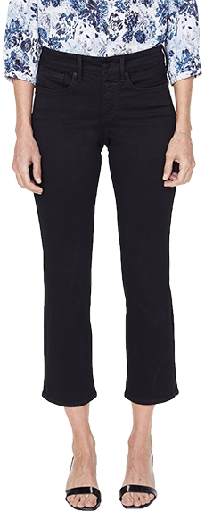 NYDJ Marilyn straight ankle jeans | 40plusstyle.com