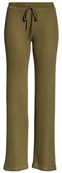PJ Salvage thermal knit lounge pants | 40plusstyle.com