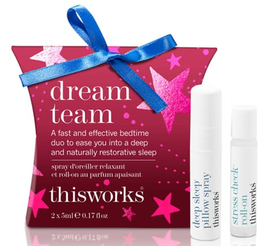 Relaxation gifts - thisworks® Great in Bed Sleep trio | 40plusstyle.com