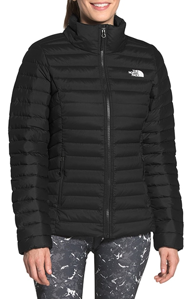 The North Face 700 Fill Power stretch down jacket | 40plusstyle.com