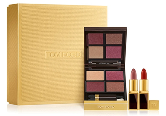 Gifts for make up lovers - Tom Ford Eye Color Quad & Mini Lip Color Set | 40plusstyle.com