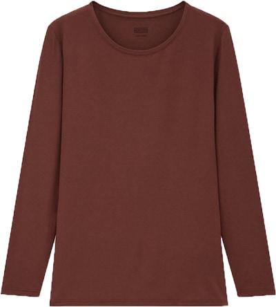 Uniqlo HEATTECH long sleeve shirt | 40plusstyle.com