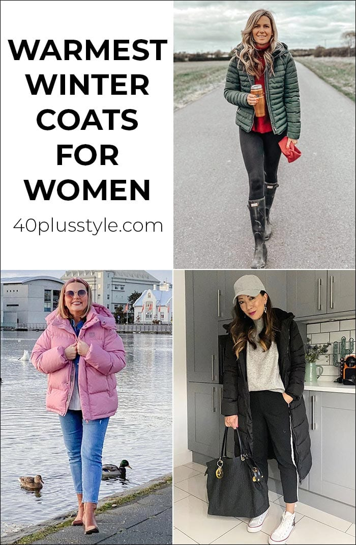 Warmest winter coats for women: The best women's coats for extreme cold | 40plusstyle.com