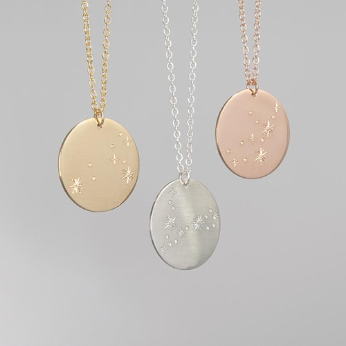 Meaningful gifts - AbbeyPark zodiac constellation necklace   40plusstyle.com