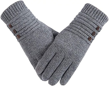 Alepo winter wool warm gloves | 40plusstyle.com