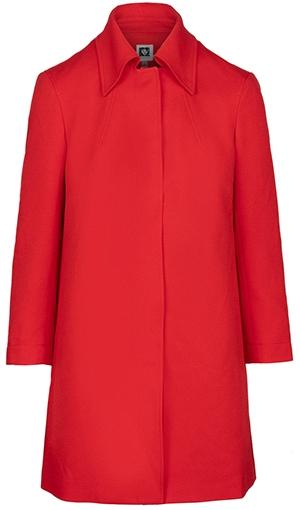 Anne Klein twill jacket | 40plusstyle.com