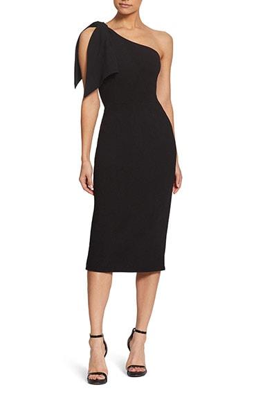 Black cocktail dress   40plusstyle.com