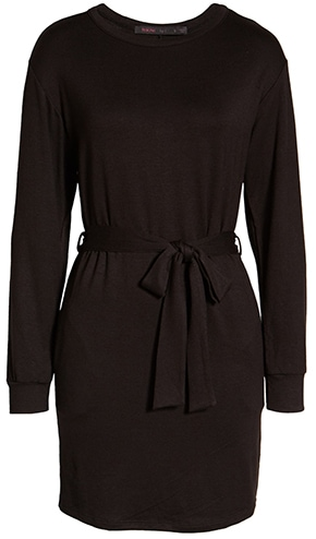 Fraiche by J tie waist dress | 40plusstyle.com